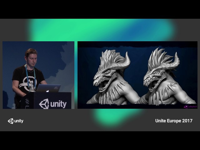 Unite Europe 2017 Step by step Age of Magic's character creation pipeline