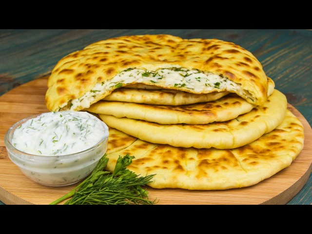 Хычины с сыром и зеленью - Рецепты от Со Вкусом