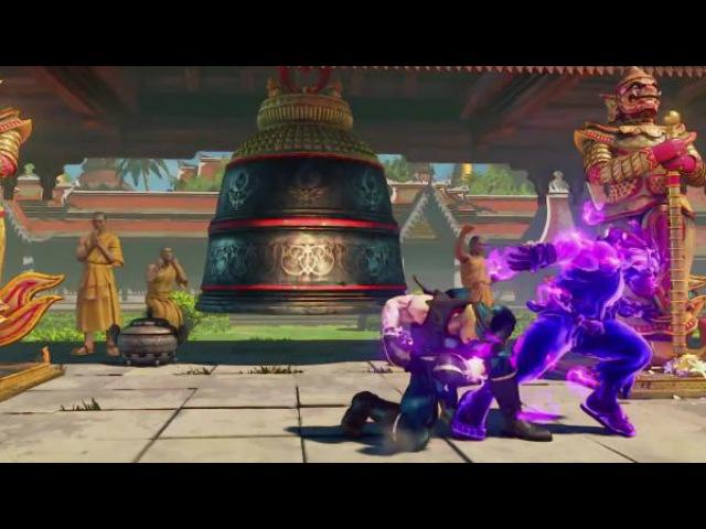 Тизер-трейлер Street Fighter 5: Arcade Edition - V-Trigger 2