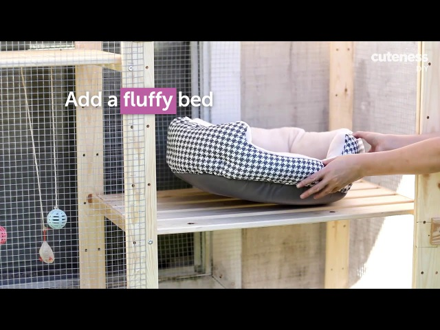 DIY: Turn IKEA Bookcases Into A Catio (Cat Patio)