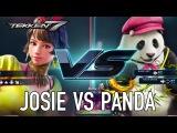 Tekken 7 - PS4/XB1/PC - Josie VS Panda (Character Gameplay)