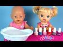 Куклы Красим Ногти Играем Маникюрный Салон Беби Бон Беби Элайв Видео для дево ...