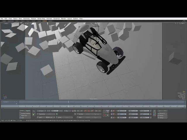 Modo Basics - Viewport Navigation - Camera