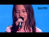 Maria.'The Winner Takes it All' (ABBA).The Voice Kids Russia 2015.