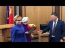 Депутаты Горсовета Красноярска наградили почетной грамотой путешественницу Ба...