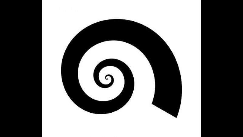 How to create a tapered vector spiral in Inkscape
