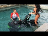 Epic Motorcycle Stunt Fails 2017 Bike in a pool