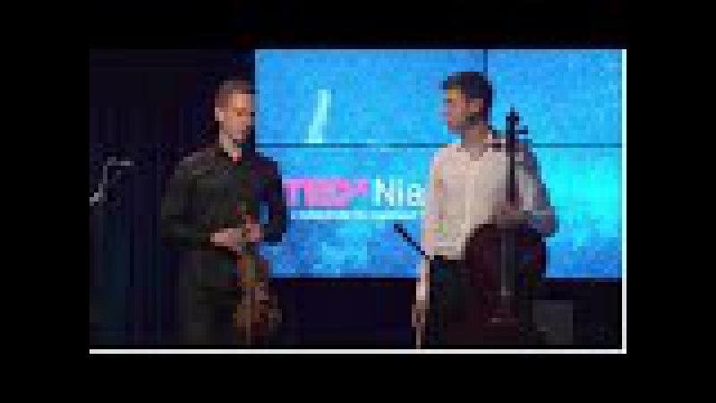 Эверест для скрипки с виолончелью | DANAND | TEDxNiamiha