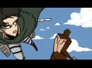 Attack on Titan - LEVI vs BEAST TITAN - Fan made animation - Shingeki no kyojin manga chapter 81