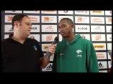 Video interview, Game 1 Jamar Smith, Unicaja Malaga