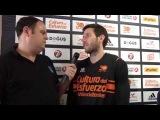 Video interview, Game 1 Sam Van Rossom, Valencia Basket