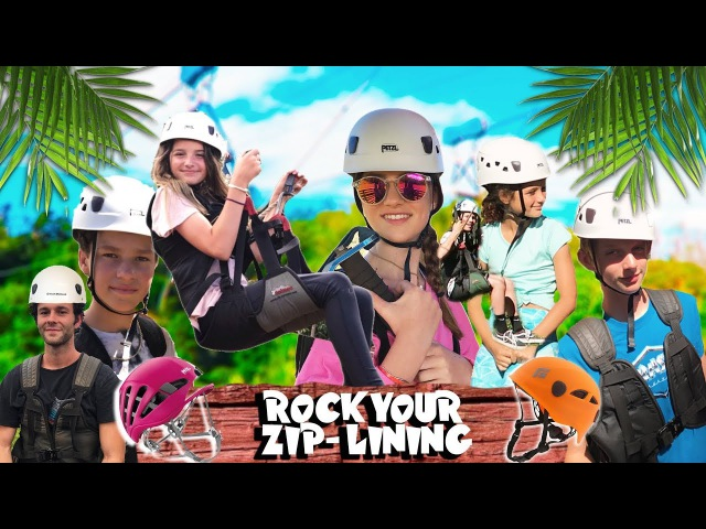 ROCK YOUR EXTREME ZIP-LINING IN MAUI: ANNIE, HAYDEN, UNCLE RUSH, AND BROOKE