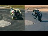 Yamaha MOTOBOT 2 vs. Valentino Rossi