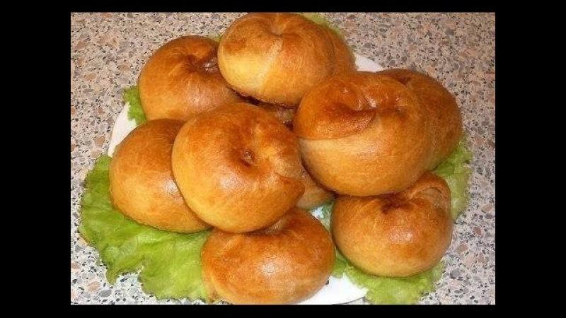 Слоистые пирожки с тыквой, с картошкой и грибами/Layered cakes with pumpkin, potatoes and mushrooms