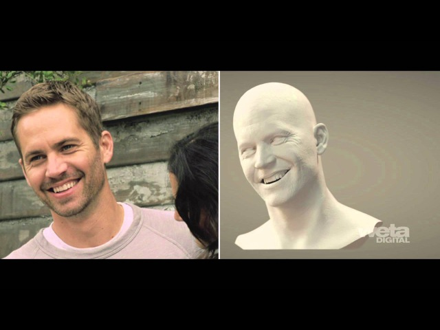 Weta Digital's artistry behind Brian O'Conner in Furious 7