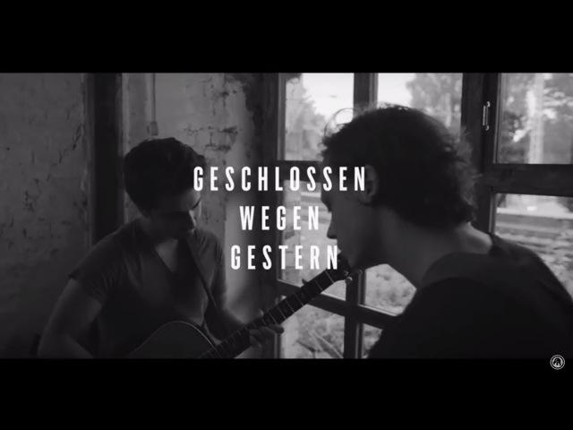 Philipp Dittberner - Geschlossen Wegen Gestern (Akustik Session)