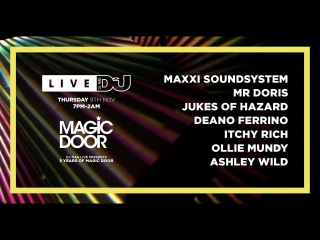 DJ Mag Live Presents Magic Door w/ Maxxi Soundsystem & More