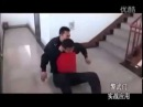 Демонстрация полицейских техник. Китайский городовой.