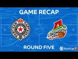 Highlights: Partizan Nis Belgrade - Lokomotiv Kuban Krasnodar