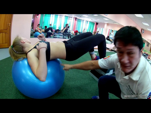 Best Deadlift for Growing Your Butt | Качаем наши ягодицы дома и растягиваемся | Anna Kurkurina