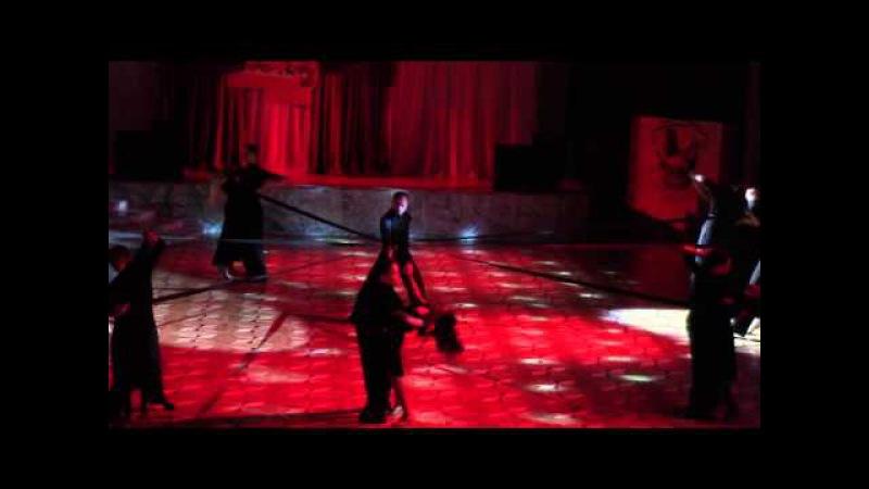 Танцующий город - 2015 Омск 07.03.2015 фрагменты 5 мин