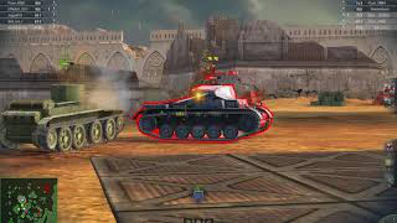 World Of Tanks: Blitz. D1. Мастер. Макрагг. (Бой 21)