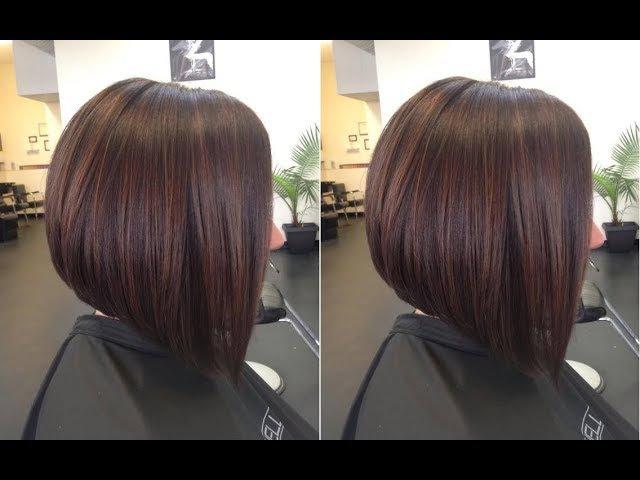 How to Cut Graduated Bob Haircut Tutorial Step by Step - Hairbrained