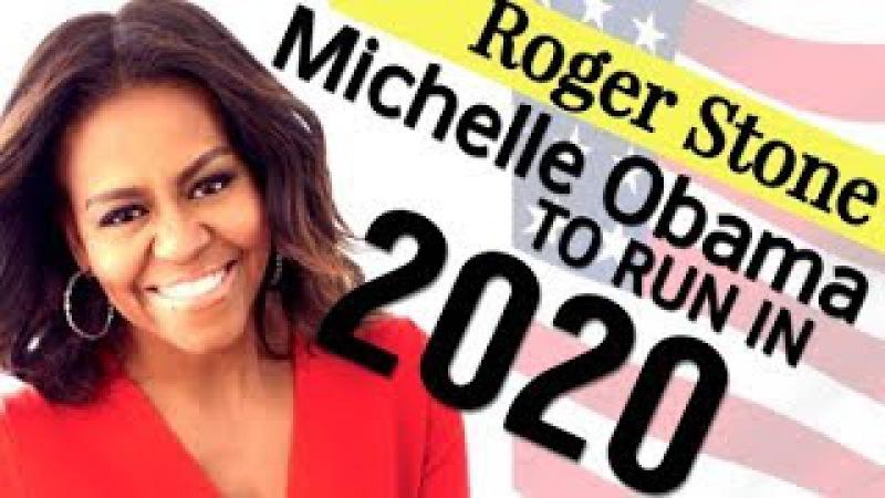 Roger Stone: M!che||e 0b@ma Running Fore Pres|dent 2o2o