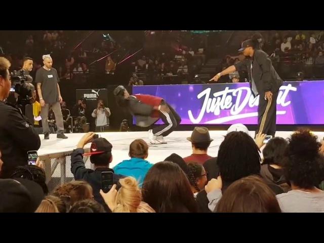 Juste Debout 2017 | Hip Hop | Majid Ukay VS Niako Icee