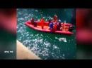 Видео подъема людей из моря, после падения автобуса на Кубани