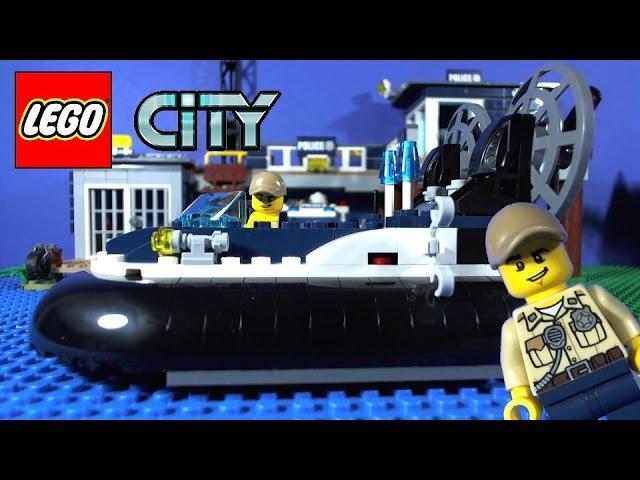 LEGO City Swamp Police Hovercraft Arrest 60071