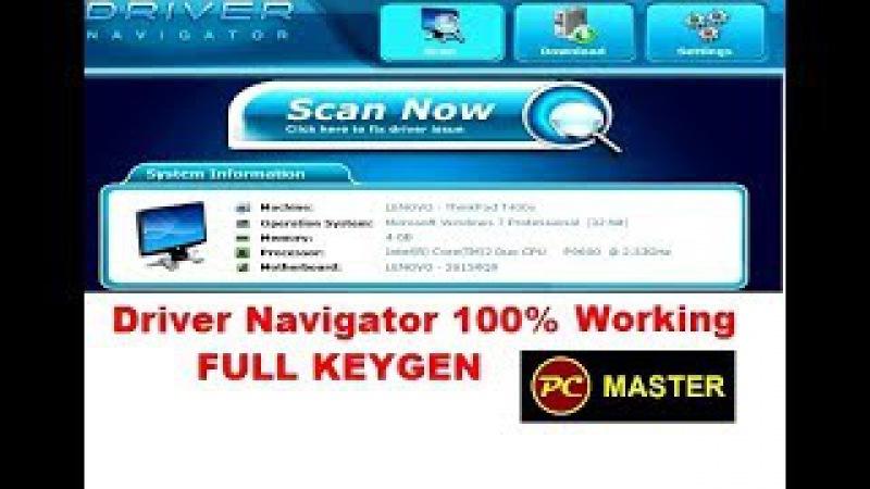 Driver Navigator 100% WORKING FULL KEYGEN AND CRACK