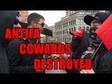 Squatting Slav TV vs. Antifa Cowards