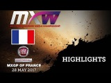 Fiat Professional MXGP of France 2017_WMX Race1 Highlights