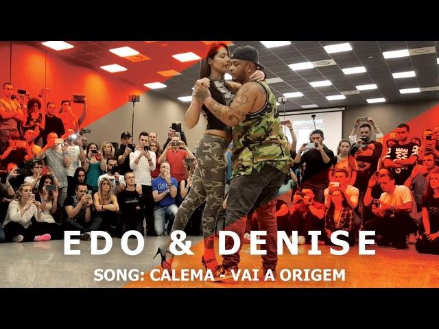 Edo Denise Kizomba Fusion Dance @ KIZMI 2016 Calema Vai A Origem