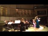 Оркестр будущего под управлением Юрия Башмета,Моцарт Концерт для флейты и арфы Александра Зверева (флейта) Есения Евдокимова ( арфа)