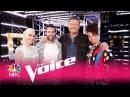 "Alicia Keys, Adam Levine, Blake Shelton and Gwen Stefani: ""Waterfalls"" - The Voice 2017"