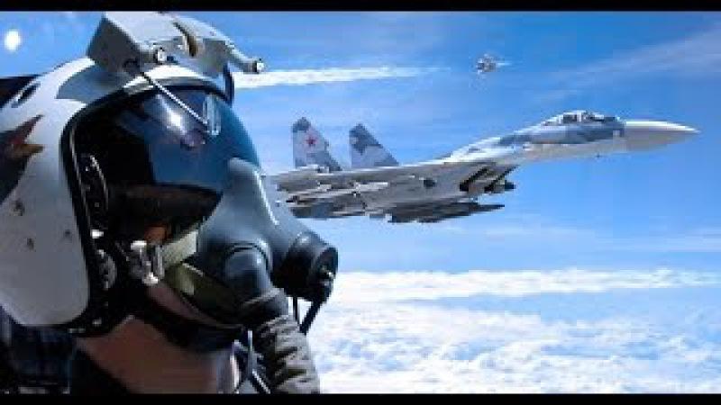 ВВС России Высший пилотаж Russian air force aerobatics