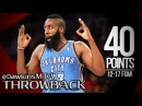 Thunder James Harden Full Highlights 2012.04.18 at Suns - SiCK 40 Pts For Young Beard!
