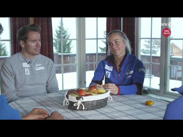 Norwegian Biathlon Team dreams about Olympic Games - Pyeongchang 2018