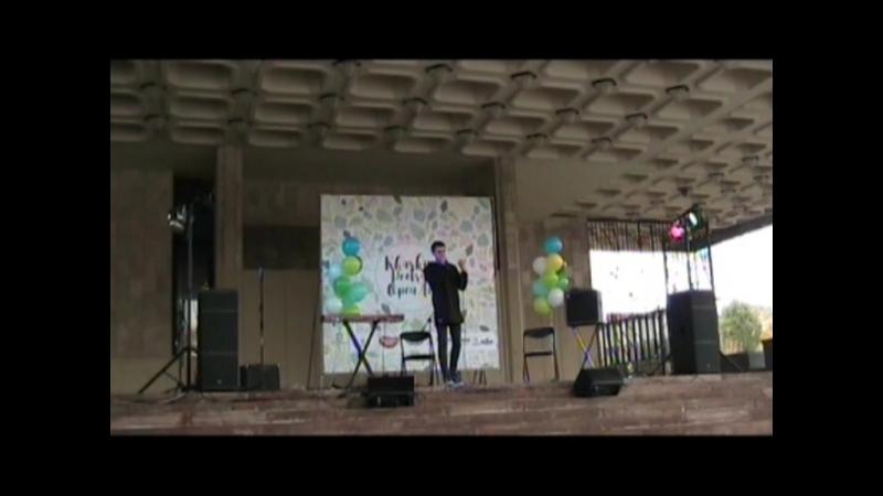 маленький фюрер Kharkiv poetry open air V 15.10.17