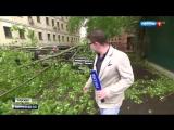 Ураган в Москве и его последствия. 29.05.2017