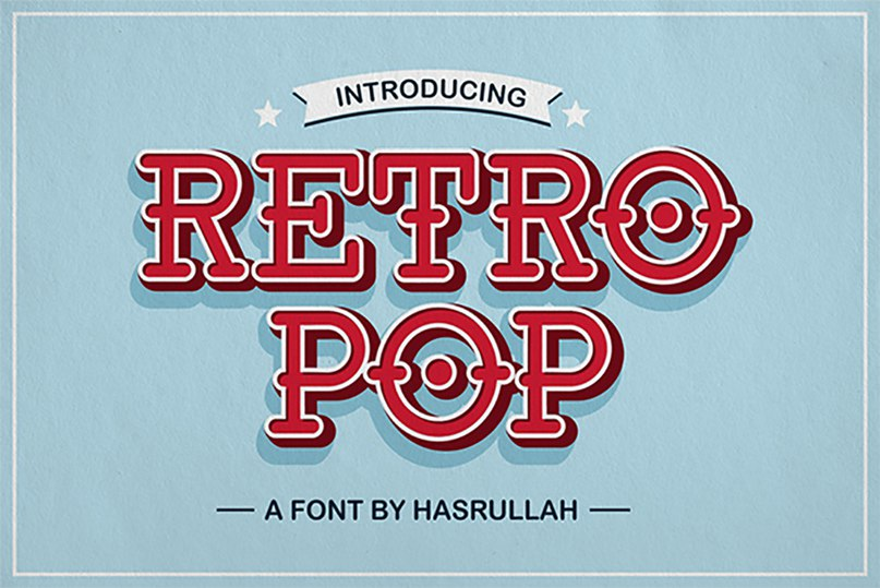 Download Retro Pop font (typeface)