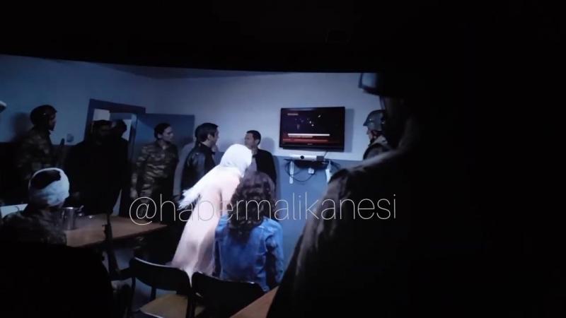 Kurtlar Vadisi Vatan Polat Alemdar miğferini geri tak asker .