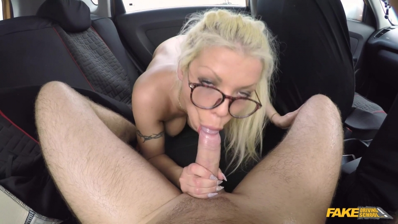 Fake Driving School Barbie Sins Hot sweaty sex with big tits blonde New Porn