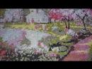 Алмазная мозаика. Летний сад!