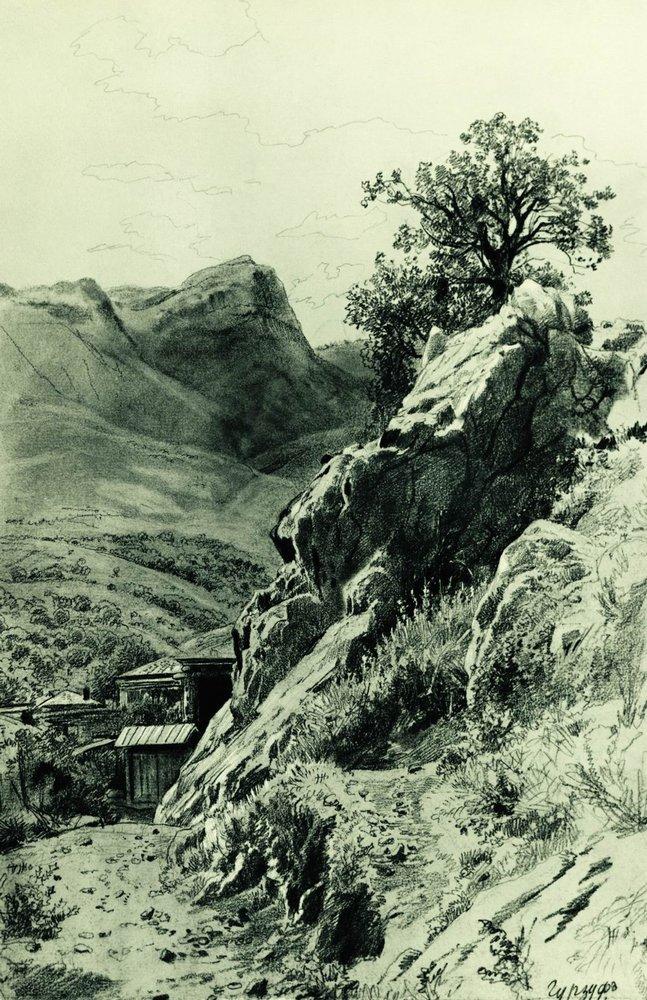 Выставка гравюр и рисунков Шишкина