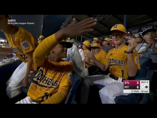 Mlb little league classic 2017. st. louis cardinals at pittsburgh pirates. august 20