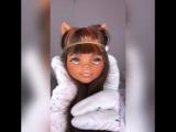 OOAK Clawdeen Wolf от Sonia Viva Japan^^
