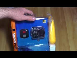 EKEN h9r ultra hd 4k action camera.Обзор